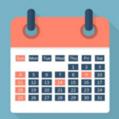 2018年日历表(含农历)A4打印版英文版