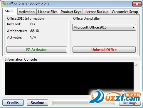 office2010激活工具截�D0
