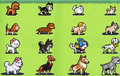 10 安卓版  发现狗狗乐园是一款开罗像素手游,也是发现动物公园的狗狗