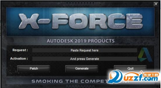 autocad 2019 64位/32位注册机截图0