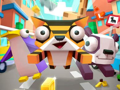 酷跑休闲益智游戏,游戏的画面绚丽多彩,玩家需要帮助小动物们逃离拥堵
