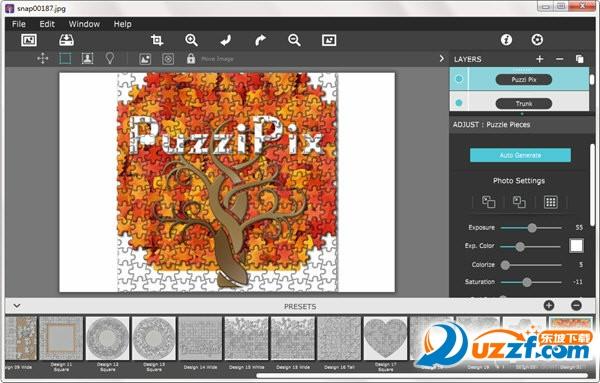 PuzziPix Pro(照片拼图效果制作工具)截图1