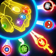 超级英雄飞刀挑战游戏