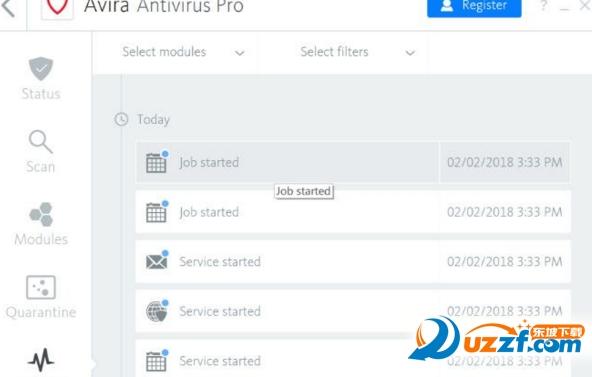 小红伞Avira Antivirus Pro 2018截图1