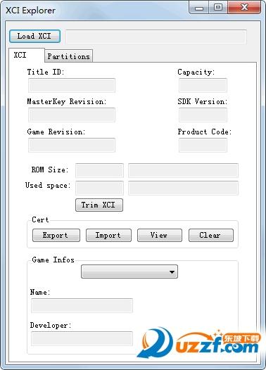 XCI Explorer软件截图0
