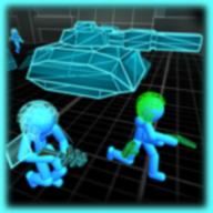 火柴人模拟器霓虹坦克战手游1.01 安卓版