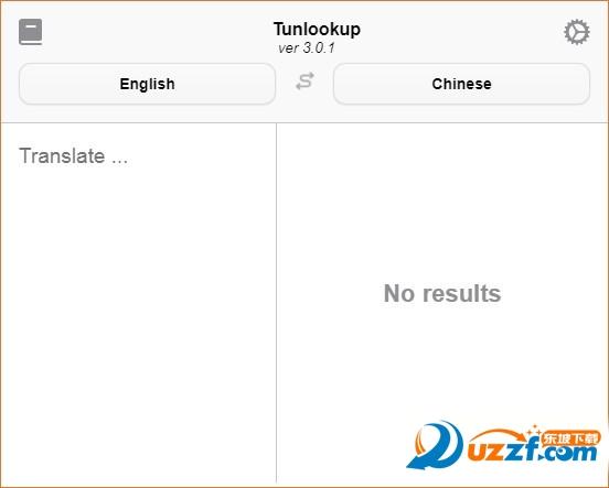 Tunlookup(文本翻译工具)截图0