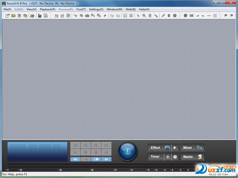Internet Sound It 8 Pro破解版截图2