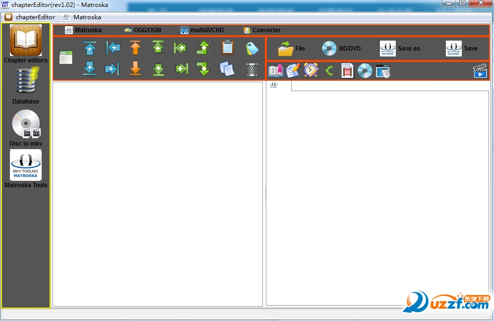 chapterEditor(视频文件章节编辑工具)截图0