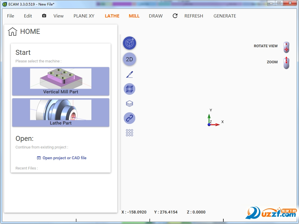 ECamV3(cnc编程软件)截图1