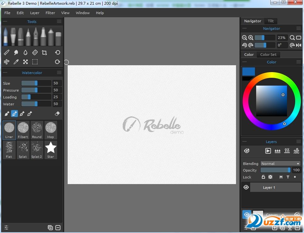 水彩软件Rebelle 3截图1