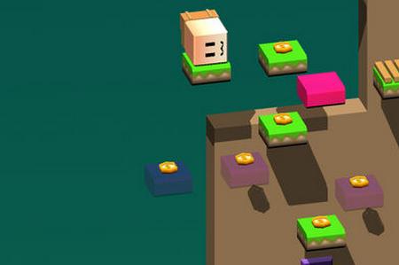 02 ios版  super drop land是一款非常可爱的翻转休闲游戏,玩家操作