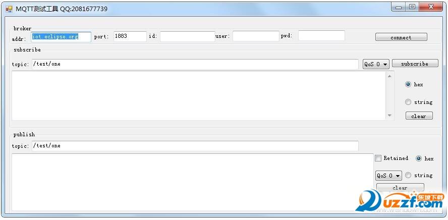 MQTT调试工具截图0