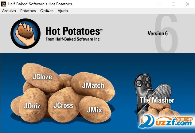 hot potatoes(交互式设计软件)截图0