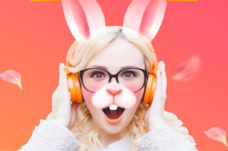 想要使用可爱的小兔兔,憨厚的小狗耳朵等动物模板尽情自拍吗?