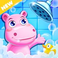 沐浴河马连接管道(plumber Hippo )