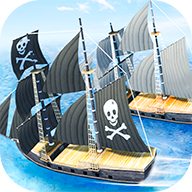 3D海盗船赛艇(Pirate Ship Boat Racing 3D)