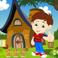 森林房子救援男孩(Boy Rescue From Forest House)