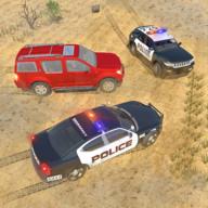 警车追逐游戏(Offroad Jeep Prado Driving Police Chase Games)