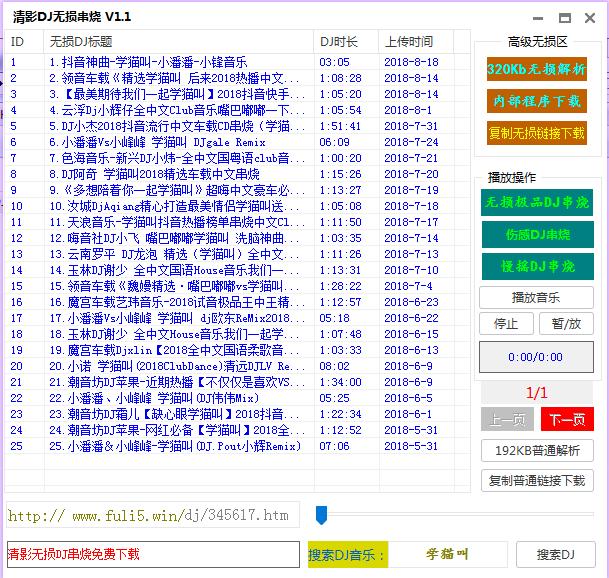 清影DJ无损串烧软件截图0