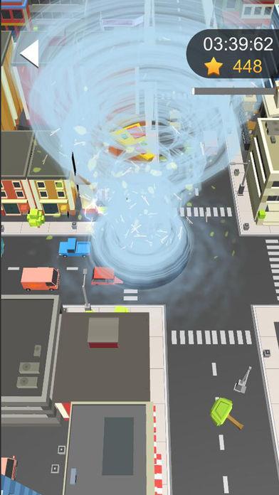 黑洞吞噬大作战城市游戏