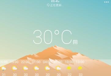小虎天气预报