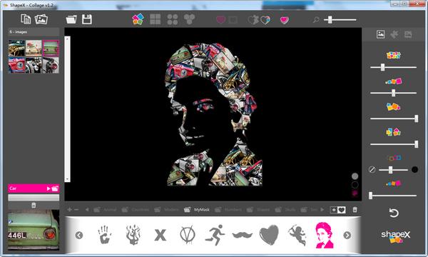 照片拼贴软件(ShapeX)