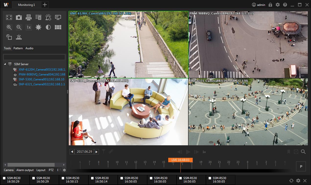 Wisenet SSM视频监控综合管理平台截图0