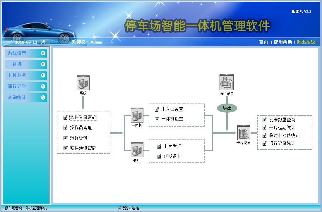 真地停车场智能一体机管理软件截图0