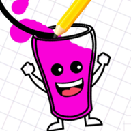 快乐的奶昔杯(Happy Milkshake Glass)