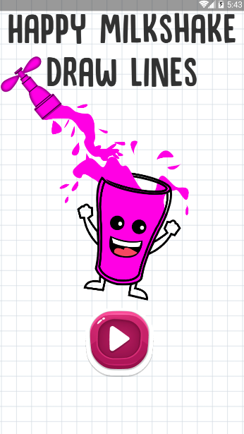 快乐的奶昔杯(Happy Milkshake Glass)截图
