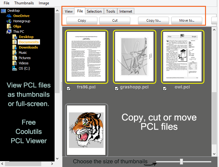 PCL文件查看器(Coolutils PCL Viewer)截图1