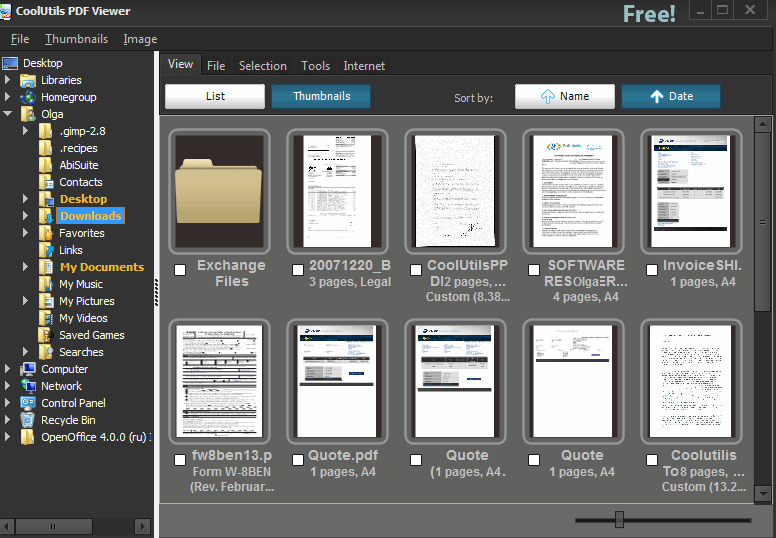 Coolutils PDF viewer(PDF查看器)截图0
