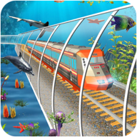 水下火车模拟器专业列车驾驶(Underwater Train Simulator Pro Train Driving)