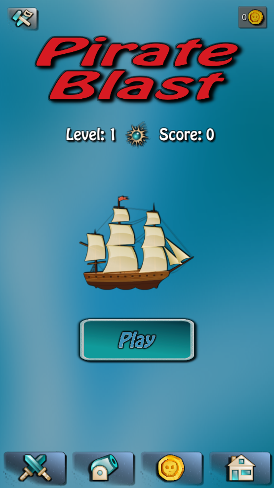 海盗爆炸(Pirate Blast)截图