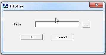 Ti TXT To Hex文件转换器截图0
