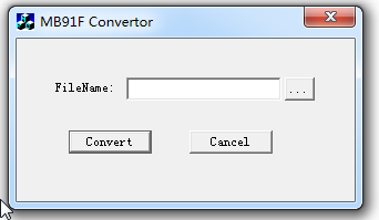 MB91F Convertor(MHX格式转换器)截图0