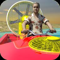 奶奶动力赛艇游戏(Granny Power Boat Racing Game)1.0.1安卓版