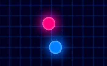 类似激光旋转球的游戏