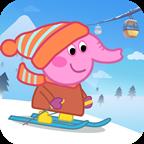 小猪爱滑雪1.0.0 安卓版