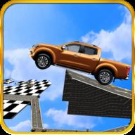 极端的天空赛道特技车程手游(Stunt Car Challenge)