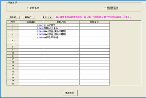 K/3WISE物料批次调整工具截图0