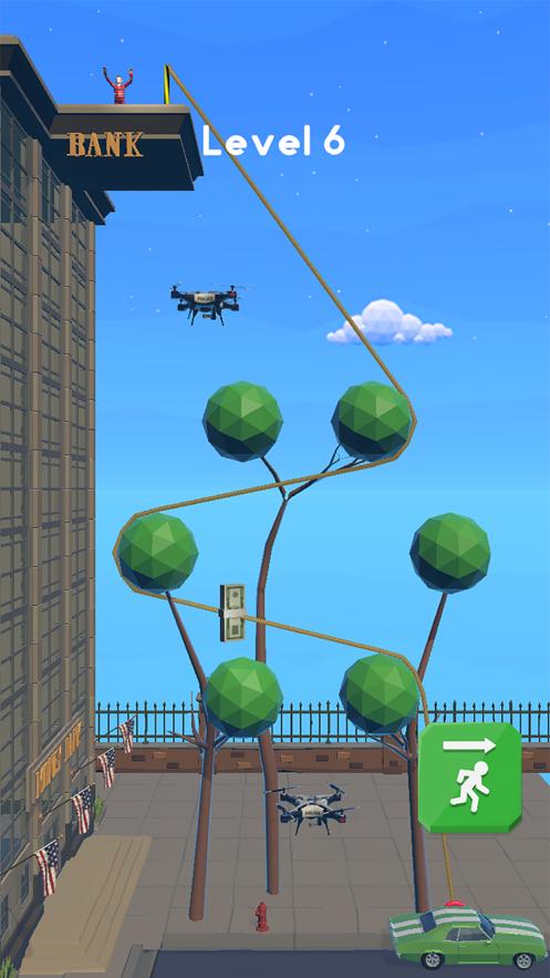 Rope Heist游戏截图