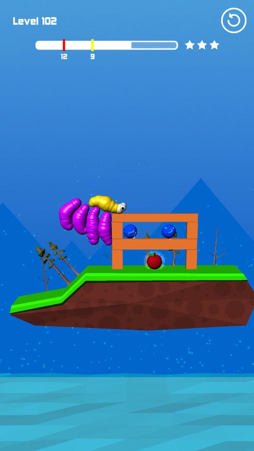 虫子吃水果脱壳游戏截图