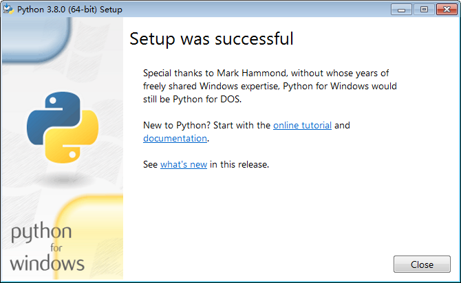 python3.8.5稳定版截图2