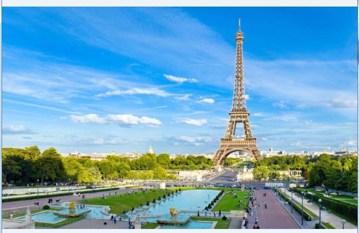 埃菲尔铁塔高清桌面壁纸截图1