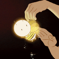 拍蜜蜂抖星星表情包动图
