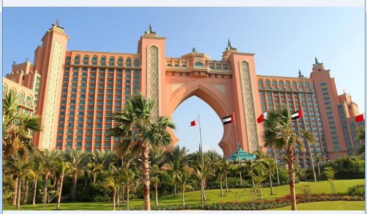 迪拜城市风景桌面壁纸截图1