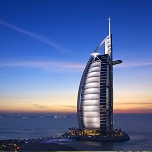 迪拜城市风景桌面壁纸