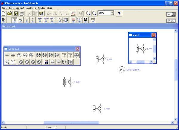 电子电路仿真软件截图1